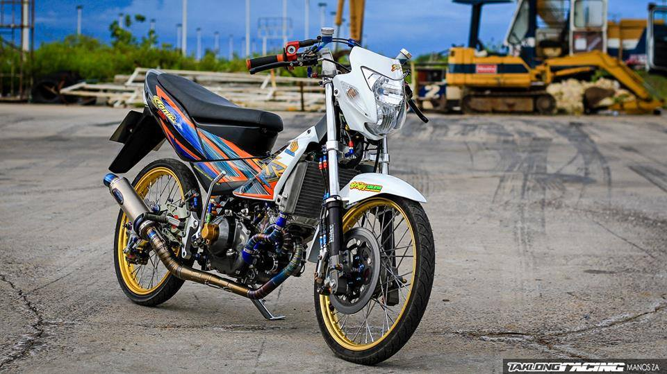 Honda Sonic do khung day phong cach cua biker Thai Lan