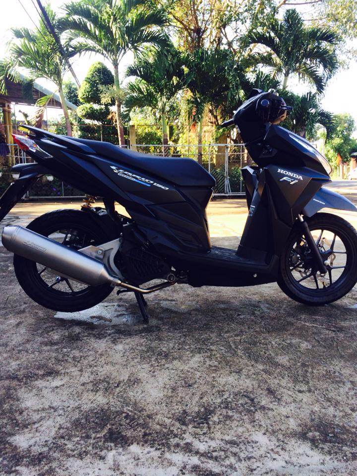 Honda Vario 150 do ca tinh cua dan choi Vung Tau - 8