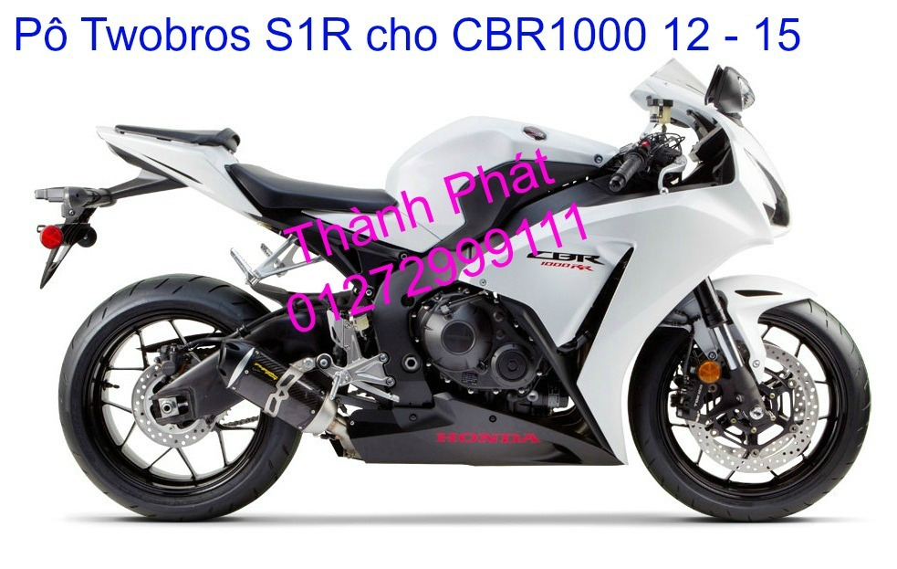 Po Twobros Hang chinh hang cho Ninja 300 R3 MSX125 Z800 Z1000 CBR1000 - 12