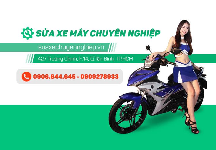 Sua xe may chuyen nghiep tai Ho Chi Minh
