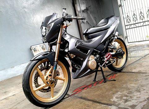Suzuki satria do kieng phien ban limited