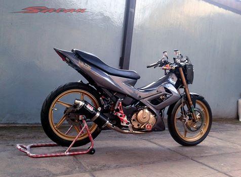 Suzuki satria do kieng phien ban limited - 2