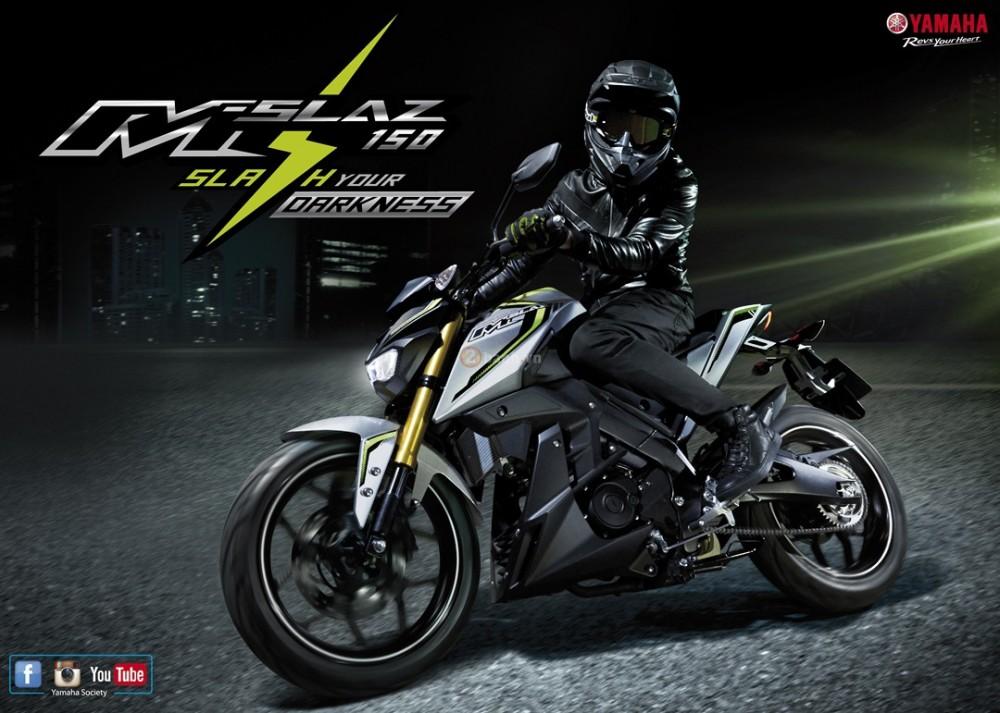 Thong so Yamaha MSlaz 2016 tuong tu R15