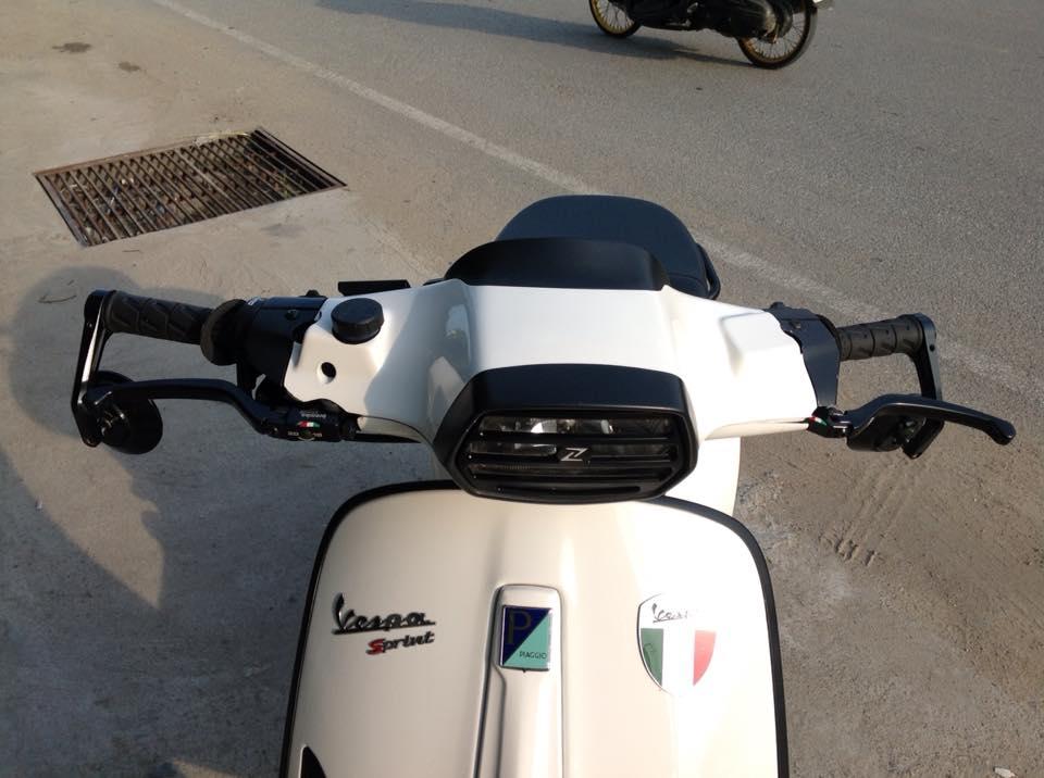 Vespa Sprint do don gian nhung day phong cach - 2