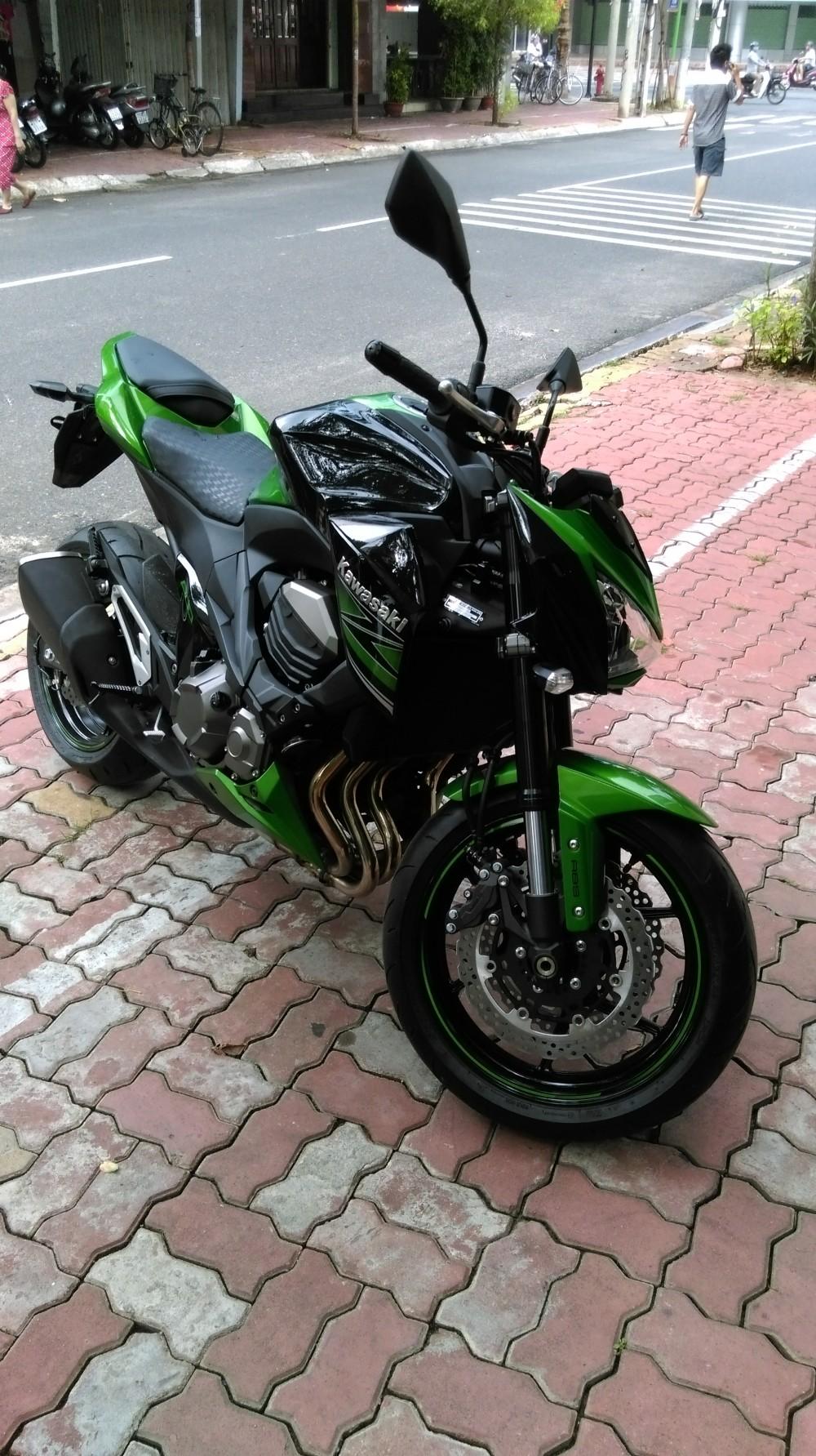Vung tau Ban xe Kawasaki z800 chau au ABS moi chay 290km - 2