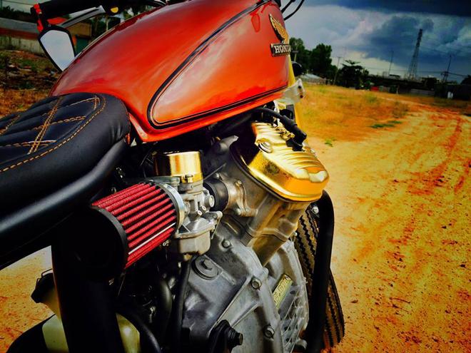 Xe do Honda GL500 cuc chat cua nu biker 8X Hai Phong - 9