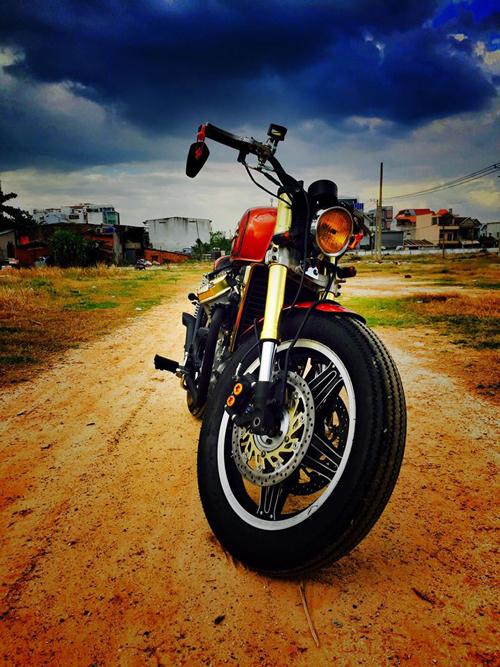 Xe do Honda GL500 cuc chat cua nu biker 8X Hai Phong - 15