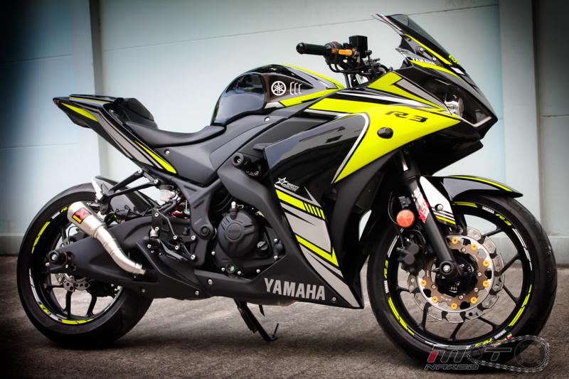 Yamaha R3 do dam chat the thao voi phien ban Boushi