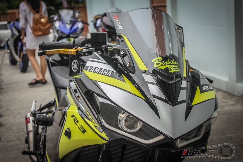 Yamaha R3 do dam chat the thao voi phien ban Boushi - 2