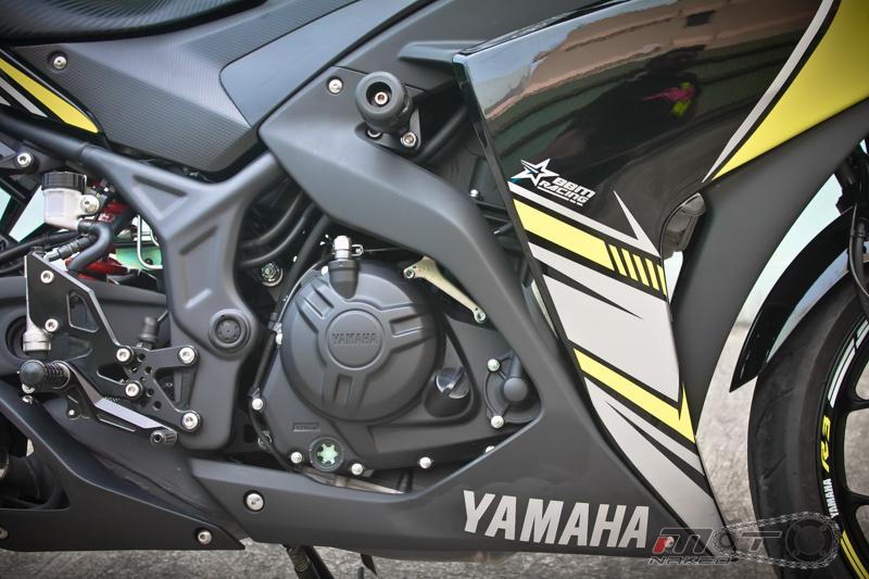 Yamaha R3 do dam chat the thao voi phien ban Boushi - 15