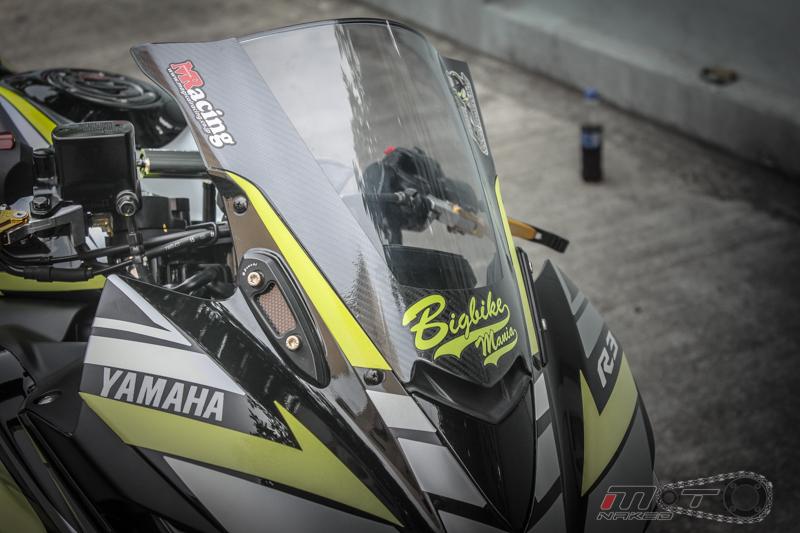 Yamaha R3 do dam chat the thao voi phien ban Boushi - 3