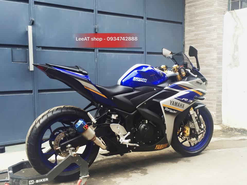 Yamaha R3 voi phien ban do hoan hao tai Sai Gon - 2