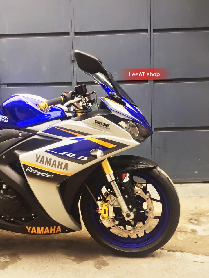 Yamaha R3 voi phien ban do hoan hao tai Sai Gon - 10