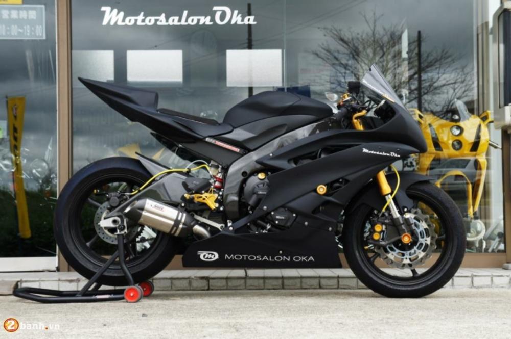 Yamaha R6 sieu chat voi phien ban do Racing - 2