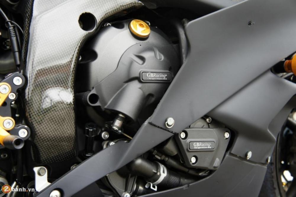 Yamaha R6 sieu chat voi phien ban do Racing - 5