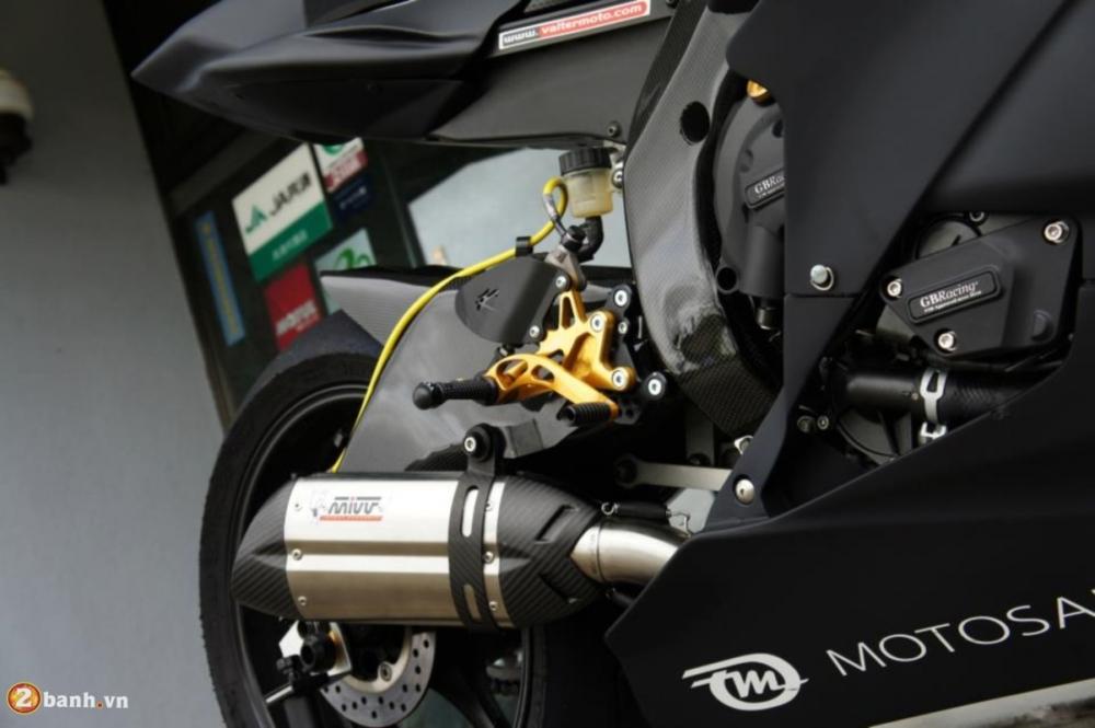 Yamaha R6 sieu chat voi phien ban do Racing - 7