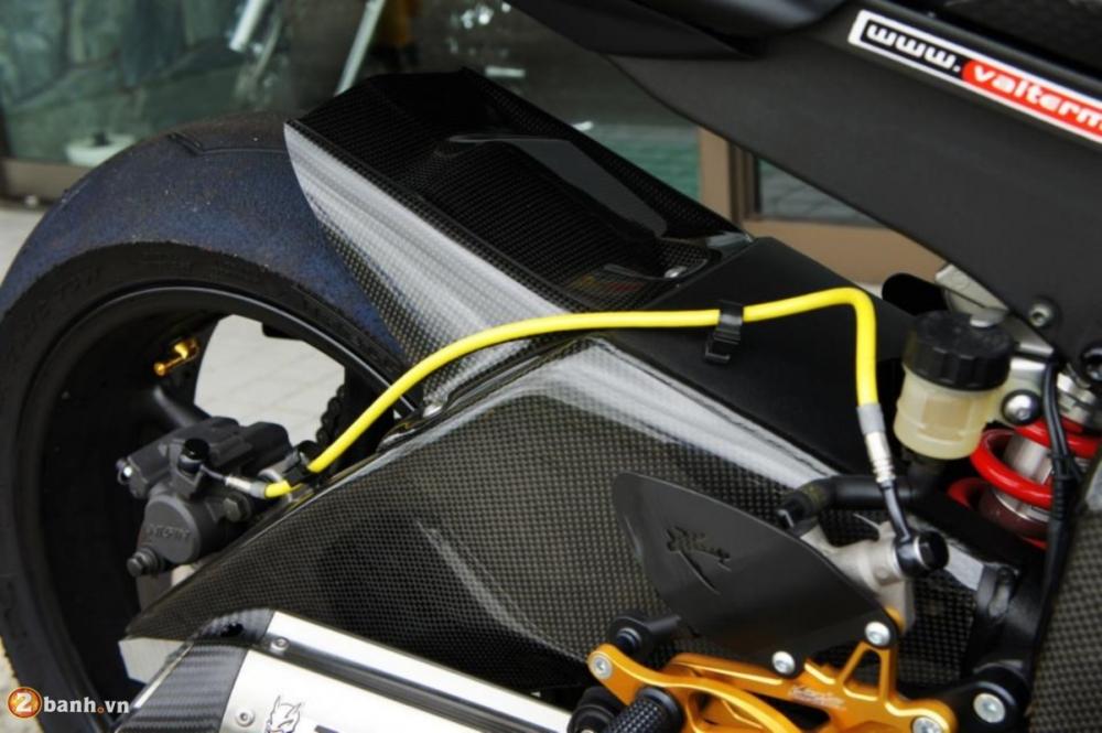 Yamaha R6 sieu chat voi phien ban do Racing - 13