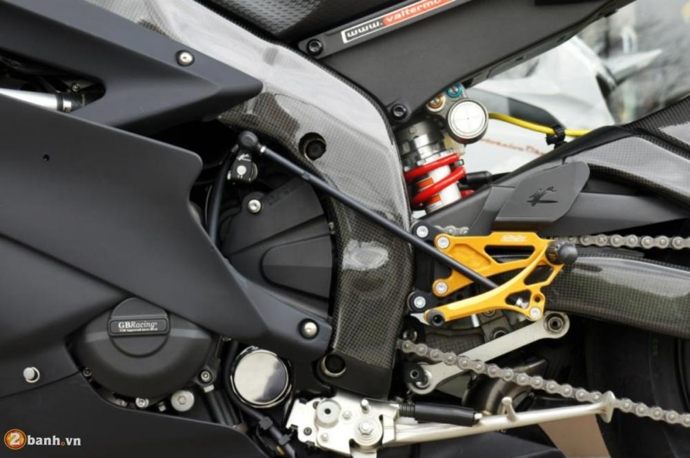 Yamaha R6 sieu chat voi phien ban do Racing - 15