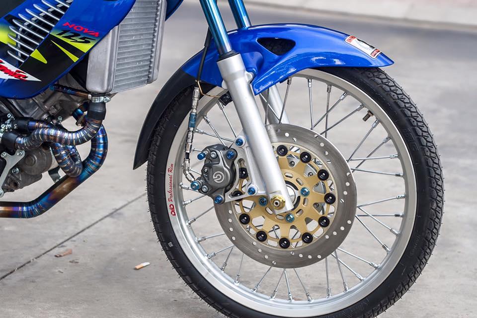 Bo doi Honda Sonic do khung cua biker Sai Gon - 3