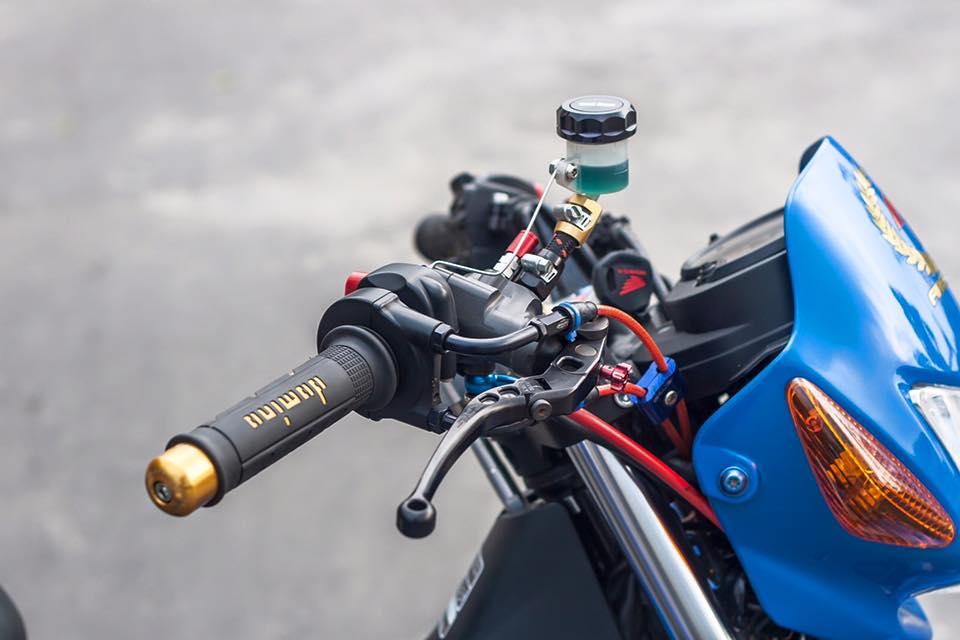 Bo doi Honda Sonic do khung cua biker Sai Gon - 5