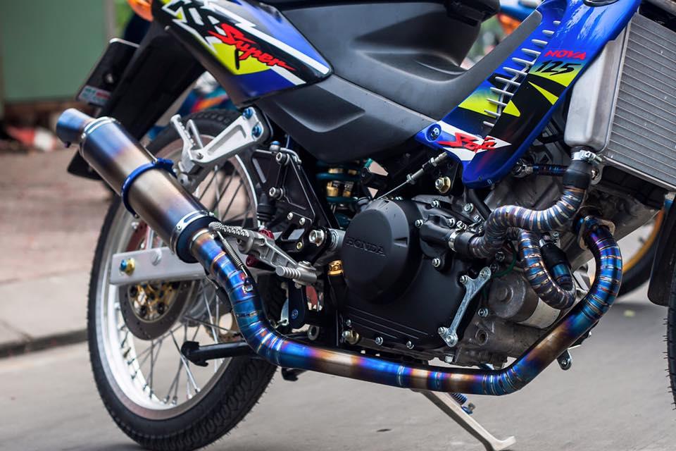 Bo doi Honda Sonic do khung cua biker Sai Gon - 12