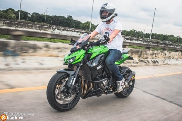 Kawasaki Z1000 2015 do day phong cach cua biker Thai - 2