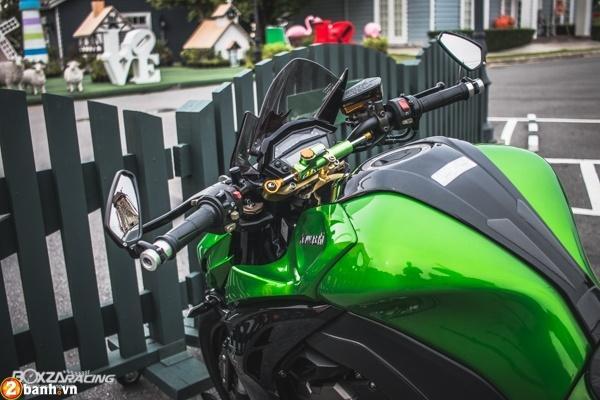 Kawasaki Z1000 2015 do day phong cach cua biker Thai - 4