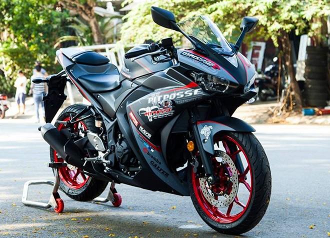 Yamaha R3 son tem dau sieu ngau cua biker Vinh Long - 2