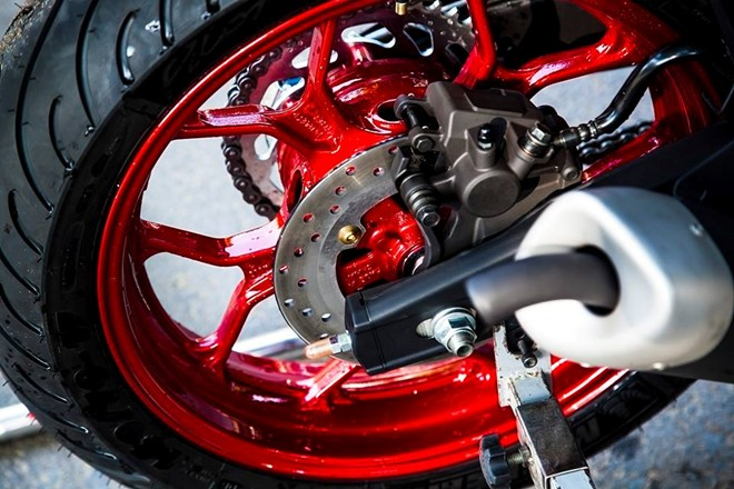 Yamaha R3 son tem dau sieu ngau cua biker Vinh Long - 4
