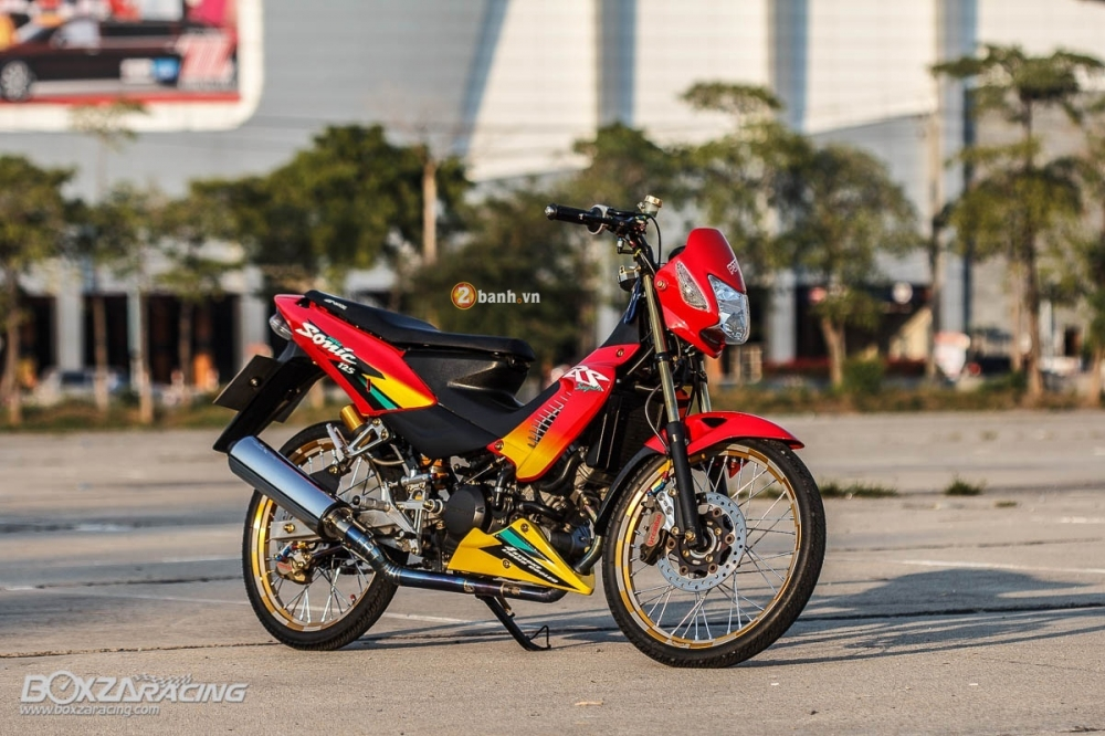 Honda Sonic do day an tuong voi dan do choi cuc chat - 2