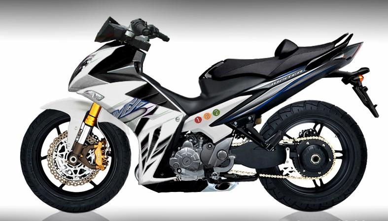 Bo anh exciter do dep cua biker Indonesia