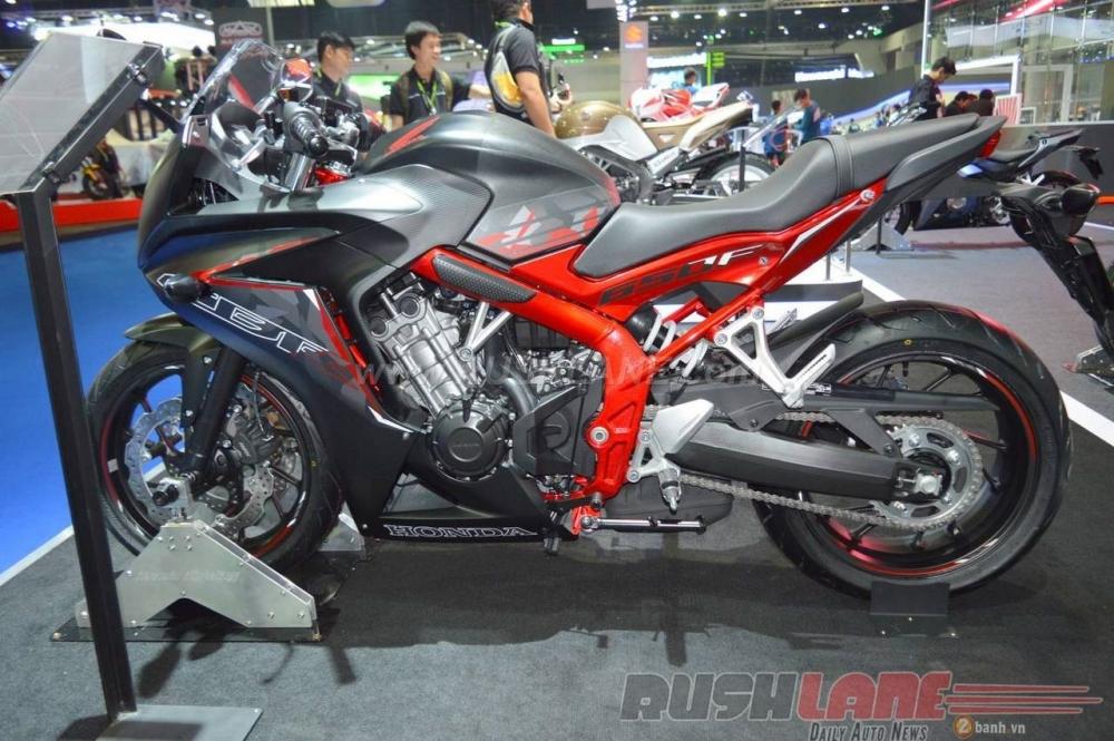 Can canh Honda CBR650F phien ban dac biet tai Bangkok Motor Show 2016 - 2