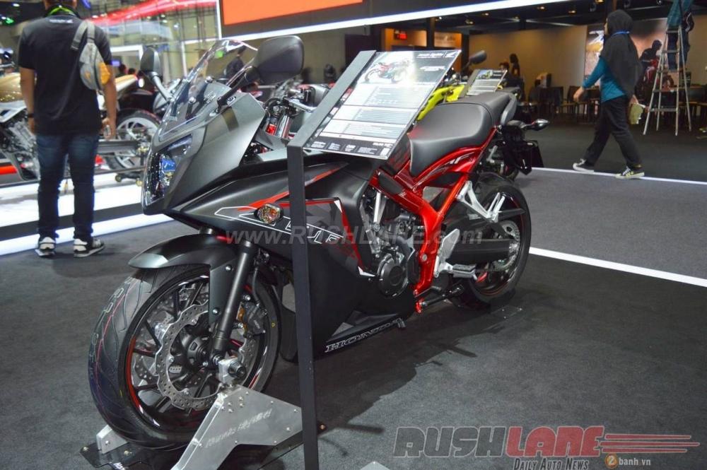 Can canh Honda CBR650F phien ban dac biet tai Bangkok Motor Show 2016 - 6