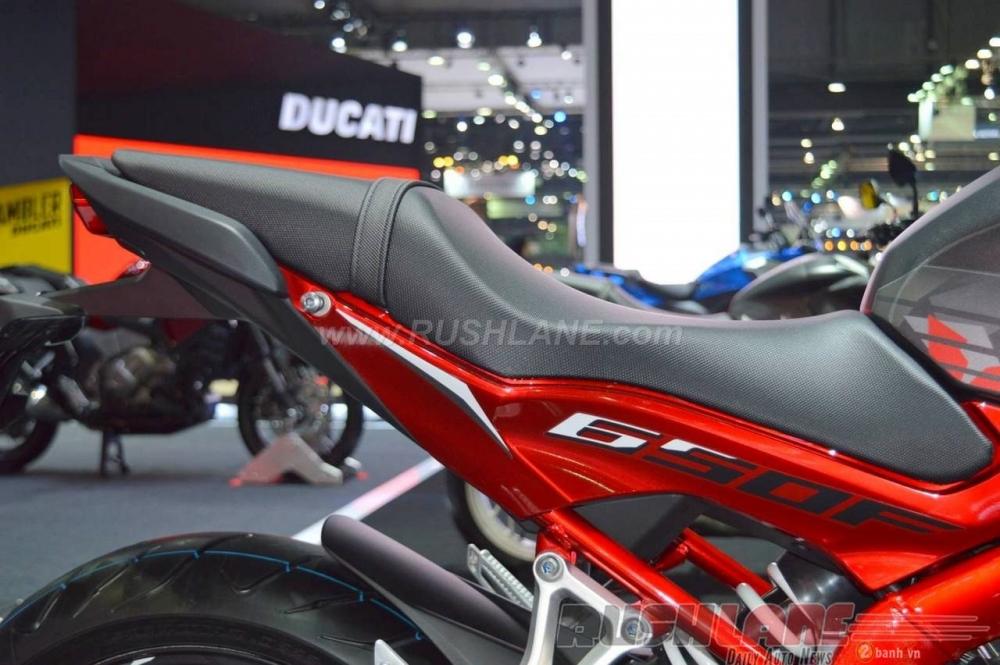 Can canh Honda CBR650F phien ban dac biet tai Bangkok Motor Show 2016 - 12