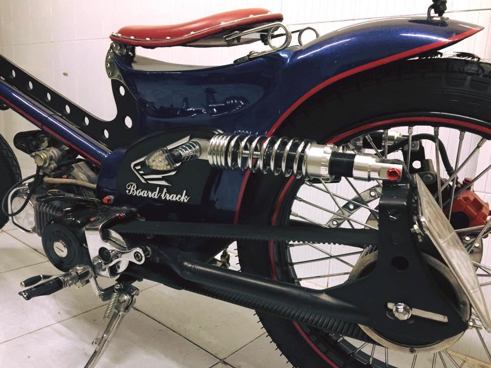 Can canh sieu Cub do bobber full 125cc - 4