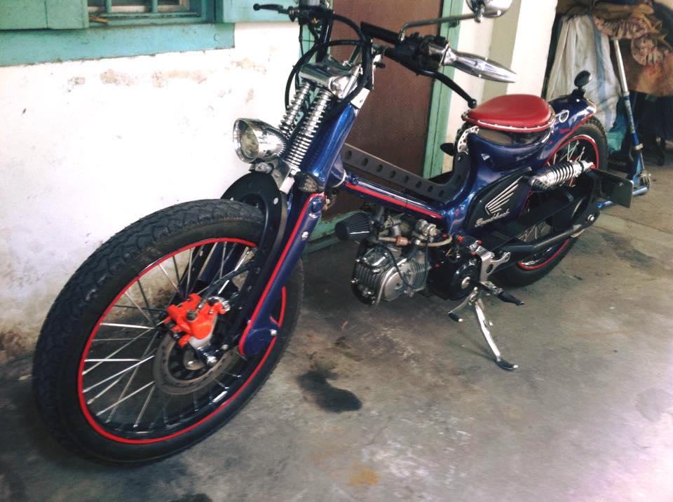 Can canh sieu Cub do bobber full 125cc - 5