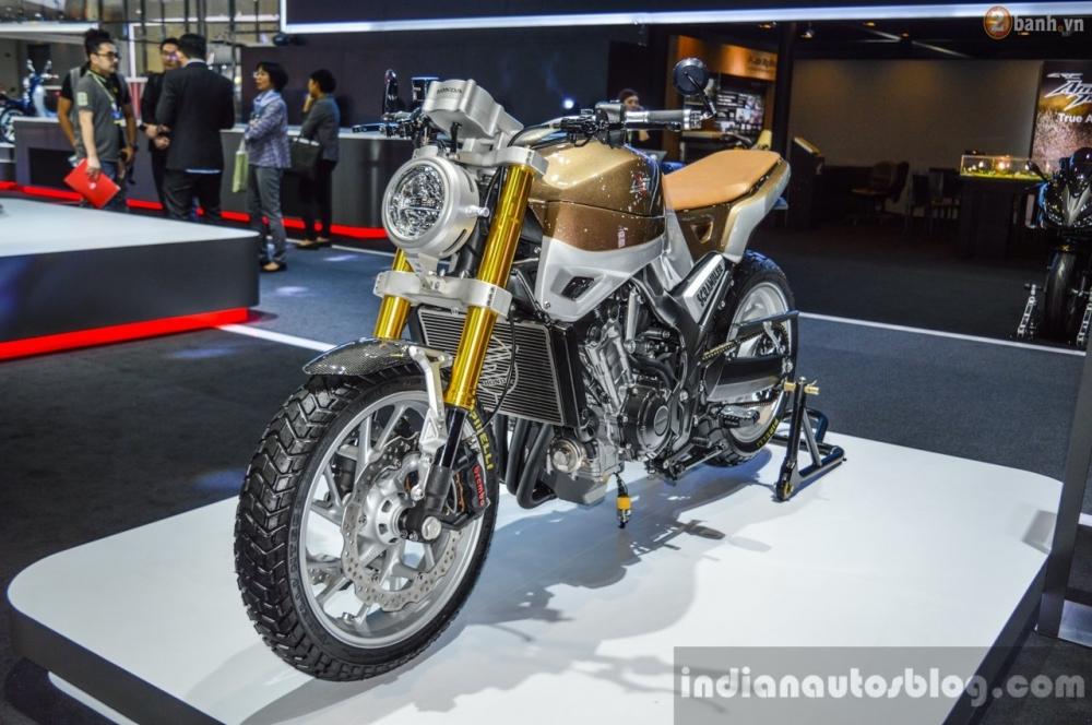 Chi tiet Honda CB650 Scrambler Concept tai Bangkok Motor Show 2016 - 2