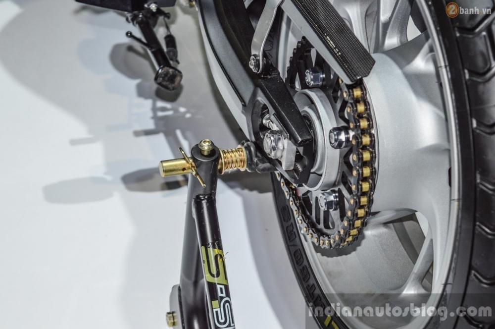Chi tiet Honda CB650 Scrambler Concept tai Bangkok Motor Show 2016 - 17