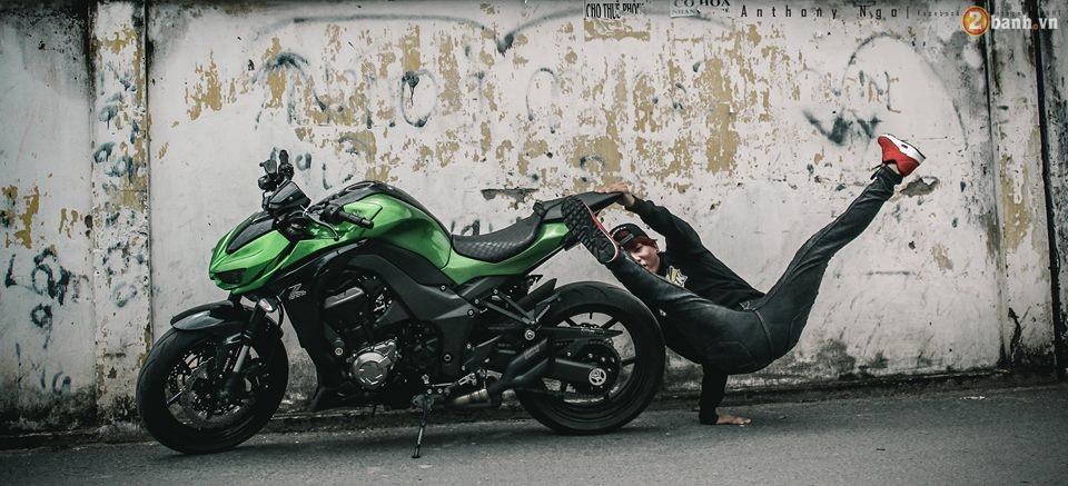 Chien binh duong pho Kawasaki Z1000 va vu dieu duong pho Hip Hop - 4