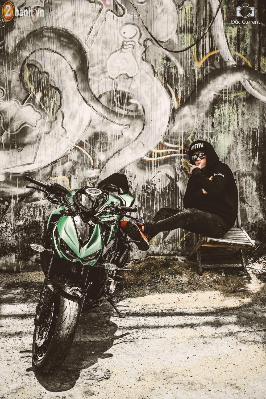 Chien binh duong pho Kawasaki Z1000 va vu dieu duong pho Hip Hop - 10
