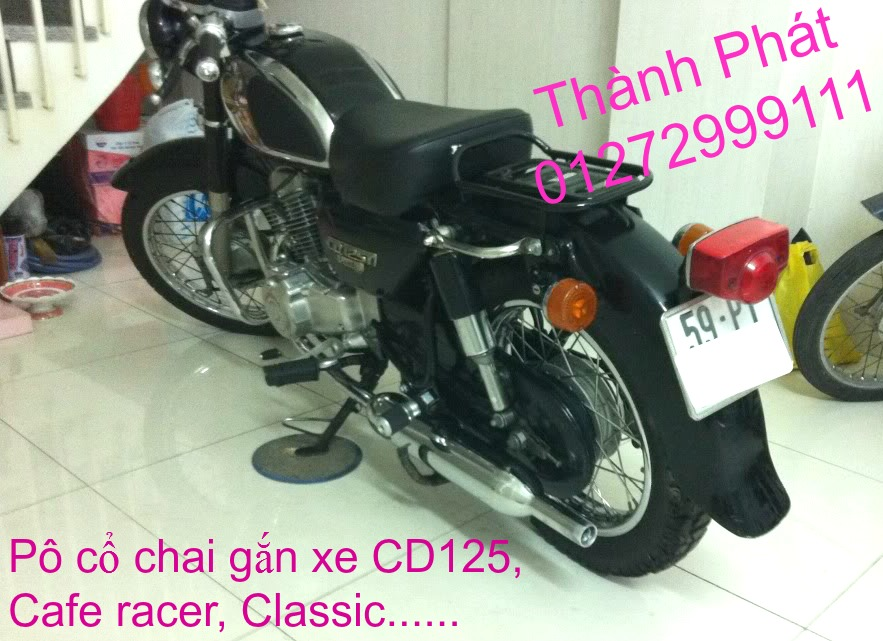 Chuyen phu tung zin va Sen Nhong Dia Honda CB250 CB125 RebeL LA 250 CD125 Yamaha Virago - 50