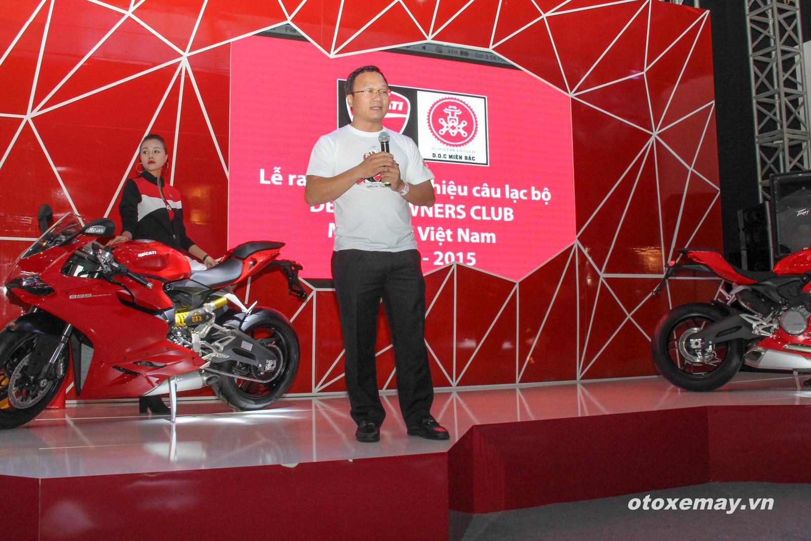 DOC Mien Bac chinh thuc nhap hoi Ducatisti the gioi - 5