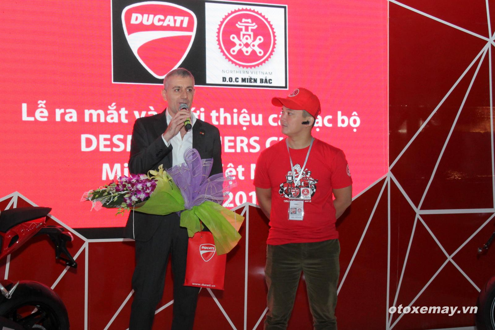 DOC Mien Bac chinh thuc nhap hoi Ducatisti the gioi - 7