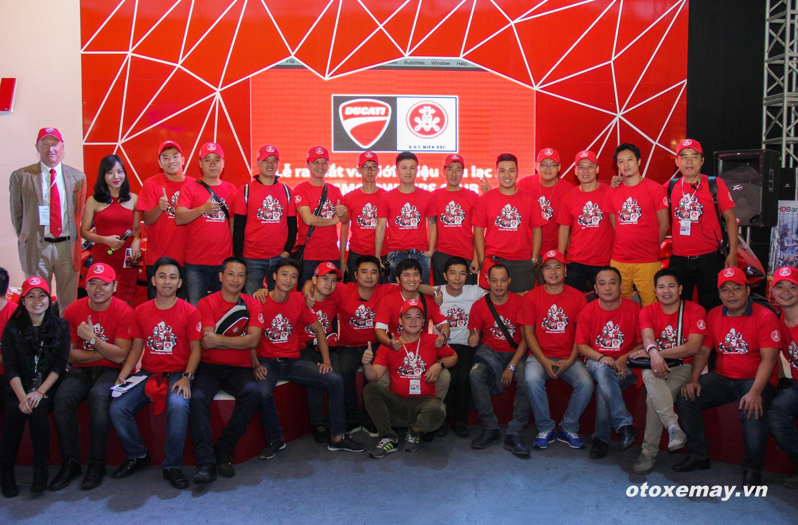 DOC Mien Bac chinh thuc nhap hoi Ducatisti the gioi - 9