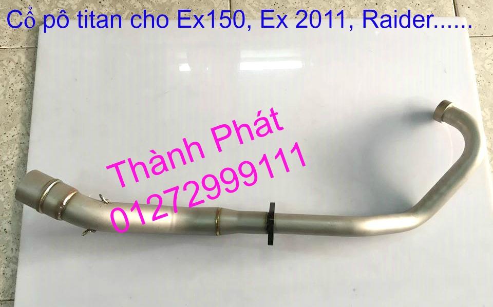 Do choi Exciter 150 tu A Z Po do Chan bun sau kieng kieu Bao tay Tay thang Xinhan kieu S - 41