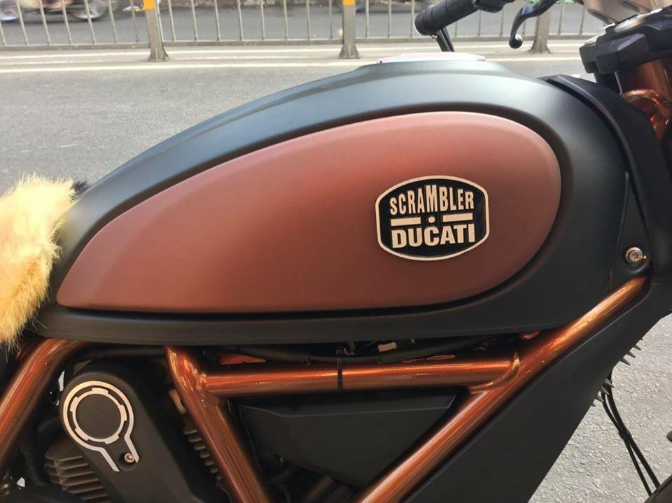 Ducati Scrambler do theo phong cach phien ban dac biet Italy - 4