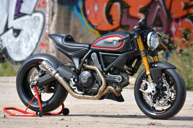 Ducati Scrambler phien ban do dac biet cua WalzWerk Racing