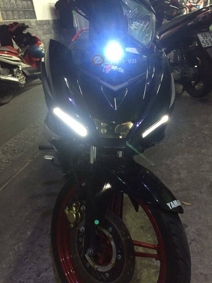 Exciter 150 do phong cach R1 2016 dang hinh thanh - 2