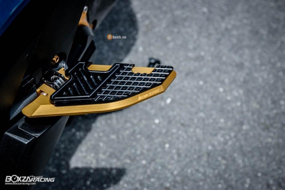 Honda Forza 300 do hang loat do choi biker day phong cach - 9