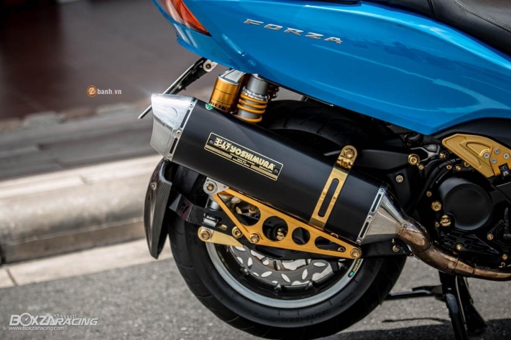 Honda Forza 300 do hang loat do choi biker day phong cach - 12